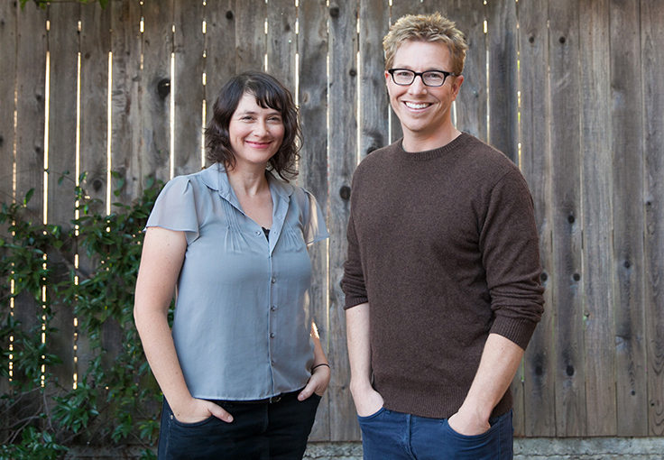 Founders Rob Perkins and Lydia Daniller